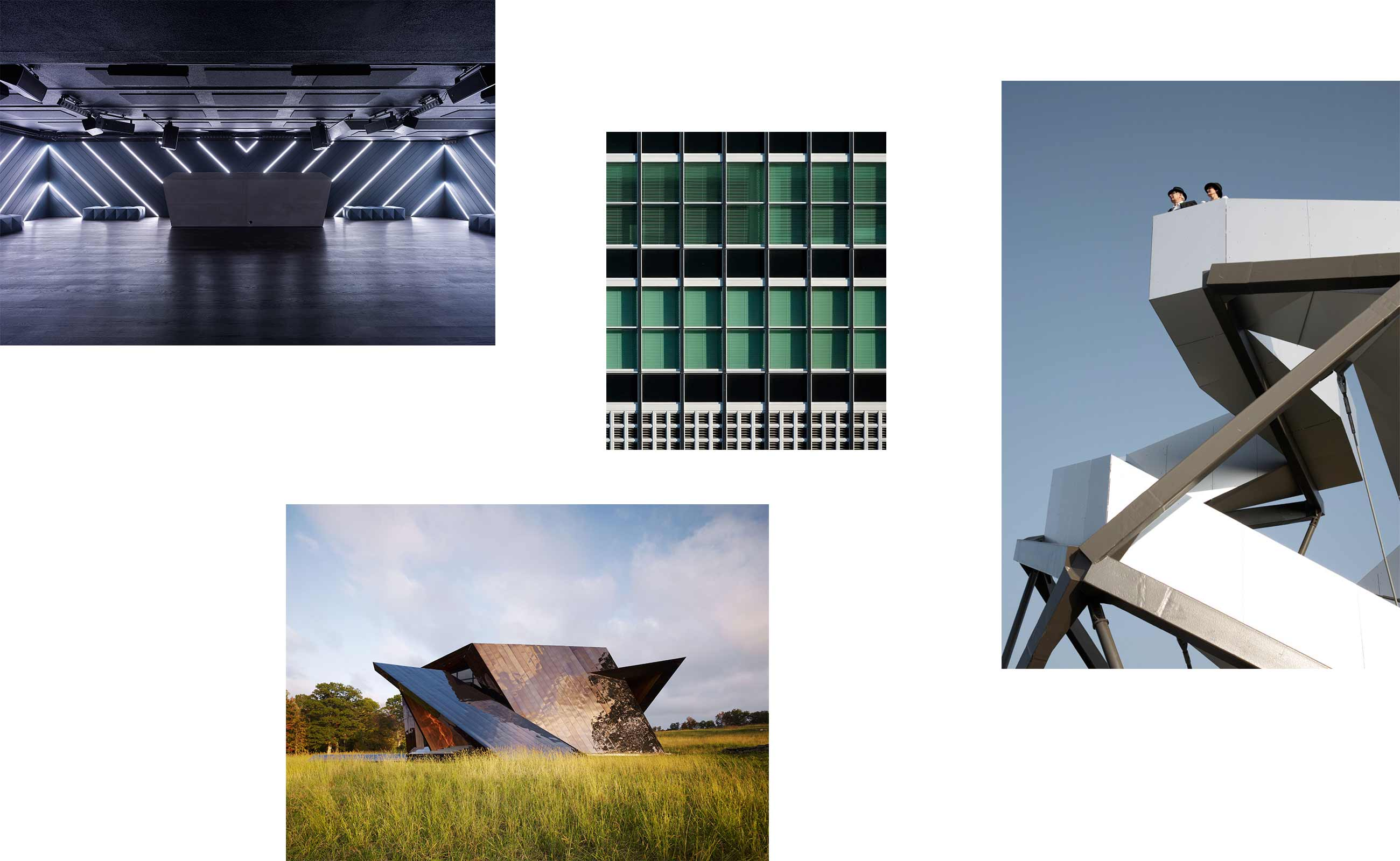Collage Architektur