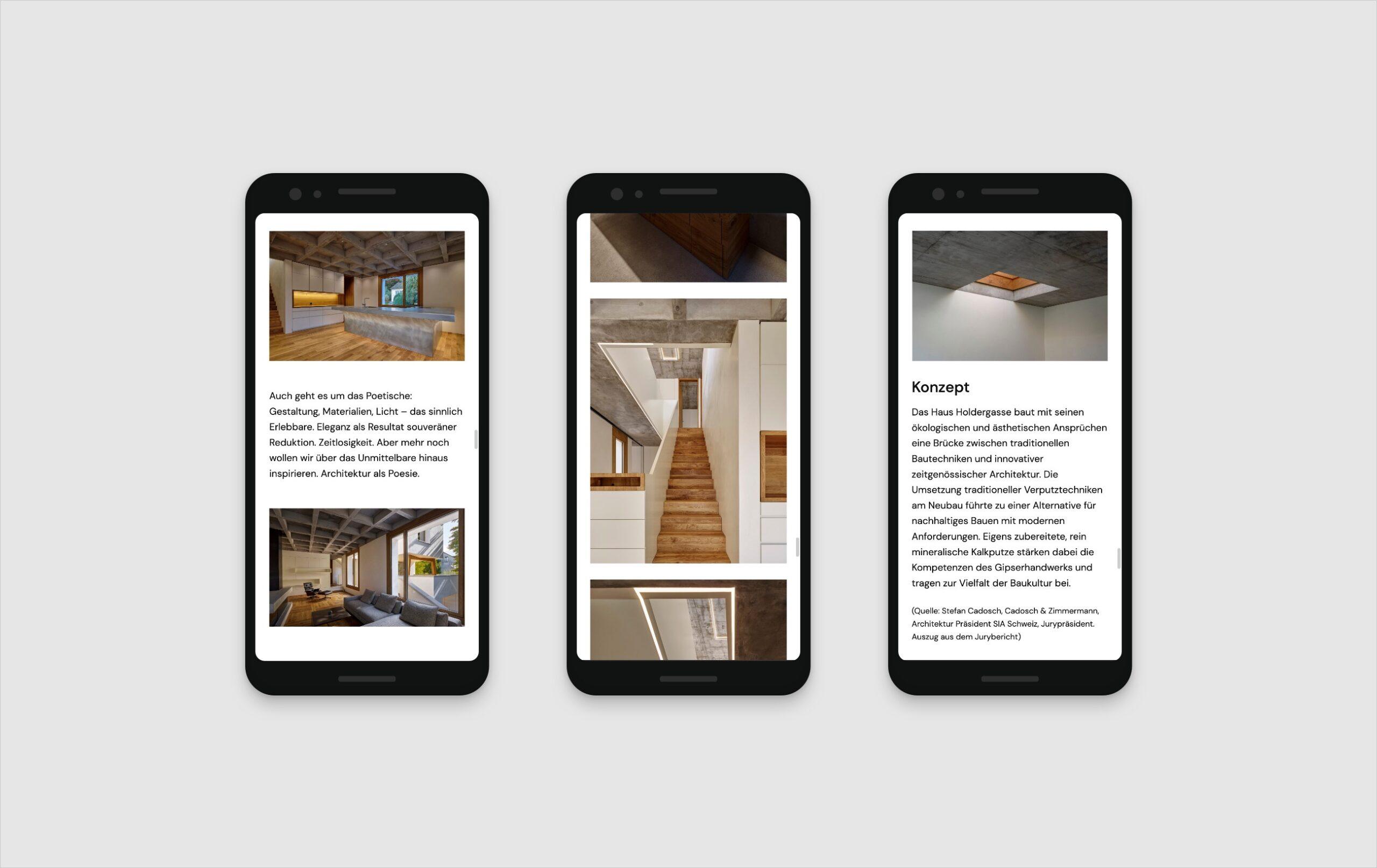Haus Holdergasse Webseite Portfolio 5