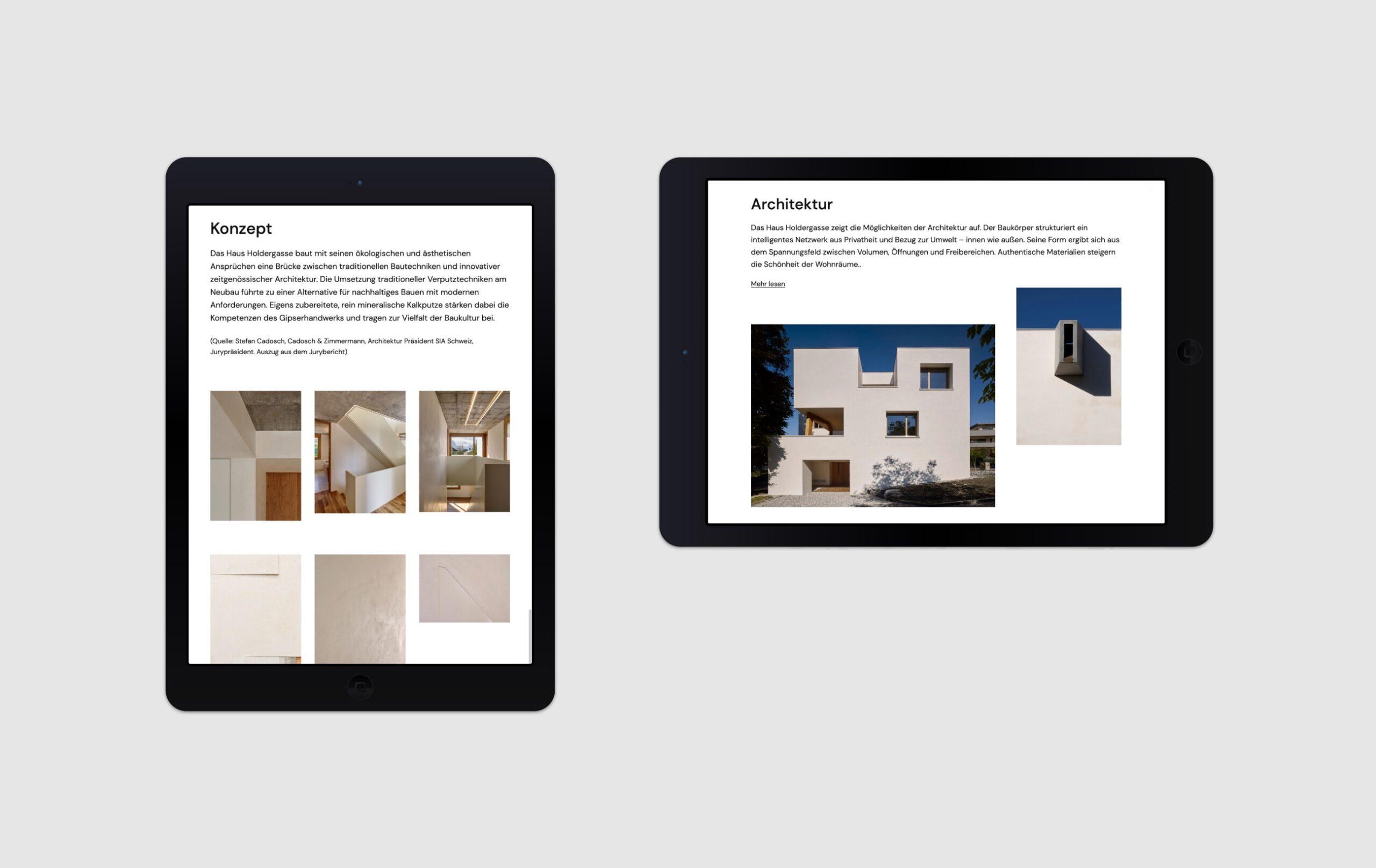 Haus Holdergasse Webseite Portfolio 6